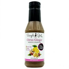 HCG Diet Approved Citrus Ginger Salad Dressing